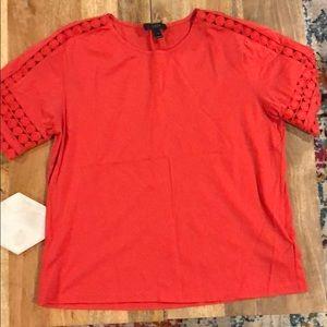 Jcrew Bright Pink Shirt